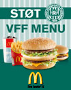Kb VFF kb en menu p Mc Donalds i Viborg